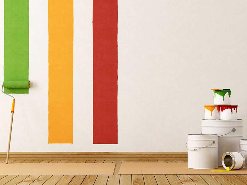 Quais são os principais tipos de tinta de parede?